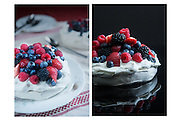 Pavlova with Berries by Rodney Bedsole, a food photographer based in Nashville and New York City.