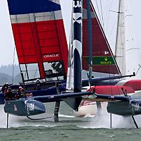 Sail GP. Cowes.