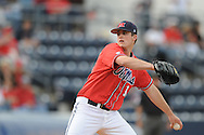 Mississippi's Drew Pomeranz pitches vs. Tennessee college baseball at Oxford-University Stadium on Friday, April 2, 2010 in Oxford, Miss. Ole Miss won 7-3.