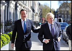 PM and Boris Local Election Launch