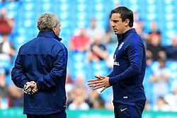 England coaches Gary Neville and Gary Lewin - Mandatory byline: Matt McNulty/JMP - 07966386802 - 22/05/2016 - FOOTBALL - Etihad Stadium -Manchester,England - England v Turkey - International Friendly