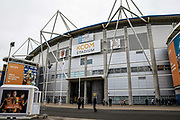 A general view from outside the KCOM Stadium prior to the The FA Cup match between Hull City and Chelsea at the KCOM Stadium, Kingston upon Hull, England on 25 January 2020.