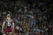 May 25th 2011: Darren Lockyer during game 1 of the 2011 State of Origin series at Suncorp Stadium in Brisbane, Australia on May 25, 2011. Photo by Matt Roberts/mattrIMAGES.com.au / QRL