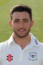 Gloucestershire player, Matt Taylor - Photo mandatory by-line: Dougie Allward/JMP - 07966 386802 - 10/04/2015 - SPORT - CRICKET - Bristol, England - Bristol County Ground - Gloucestershire County Cricket Club Photocall.