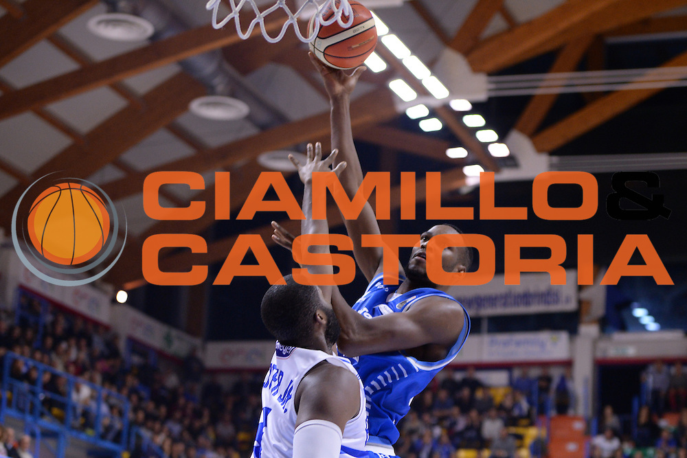 Darden Tremmell<br /> \Enel Brindisi - Red October Cantu<br /> BASKET SerieA 2016-2017<br /> Brindisi 21 /11/2016 <br /> FOTO CIAMILLO