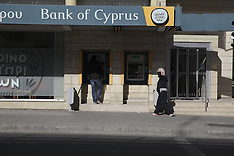 MAR 19 2013 Atm in Nicosia, Cyprus