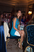 TOGZHAN ISBASSAROVAThe Foreign Sisters lunch sponsored by Avakian in aid of Cancer Research UK. The Dorchester. 15 May 2012