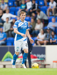 St Johnstone's Liam Craig. St Johnstone 3 v 0 Falkirk, Group B, Betfred Cup, played 23/7/2016 at St Johnstone's home ground, McDiarmid Park.