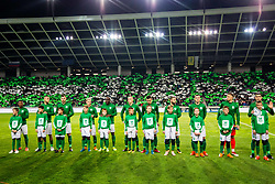 NK OLimpija players during football match between NK Olimpija Ljubljana and NK Maribor in Round #25 of Prva Liga Telekom Slovenije 2017/18, on March 31, 2018 in SRC Stozice, Ljubljana, Slovenia. Photo by Ziga Zupan / Sportida