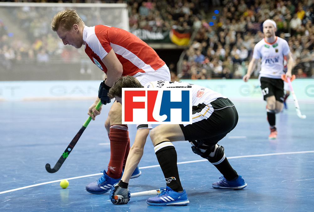 BERLIN - Indoor Hockey World Cup<br /> Final: Germany - Austria<br /> foto: Tobias Hauke and Michael K&ouml;rper <br /> WORLDSPORTPICS COPYRIGHT FRANK UIJLENBROEK