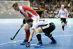 BERLIN - Indoor Hockey World Cup<br /> Final: Germany - Austria<br /> foto: Tobias Hauke and Michael K&ouml;rper <br /> WORLDSPORTPICS COPYRIGHT FRANK UIJLENBROEK