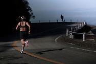 SP-RJ, BRASIL, 20/07/2010, 10h06m: Camila de Araujo Nicolau e Gabriel Gargiulo Pacca em fotos posadas do percurso de ultramaratona Nike 600K. Local da foto: Serra_Velha_de_Santos.  (foto: Caio Guatelli)