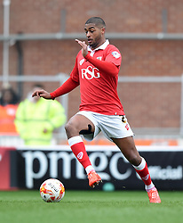 Bristol City's Mark Little in action during the Sky Bet League One match between Bristol City and Gillingham at Ashton Gate on 14 March 2015 in Bristol, England - Photo mandatory by-line: Paul Knight/JMP - Mobile: 07966 386802 - 14/03/2015 - SPORT - Football - Bristol - Ashton Gate Stadium - Bristol City v Gillingham - Sky Bet League One