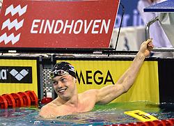 02-04-2015 NED: Swim Cup, Eindhoven<br /> Sebastiaan Verschuren 100m vrij<br /> Photo by Ronald Hoogendoorn / Sportida