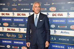 December 3, 2018 - Milan, Italy - President FIGC Gabriele Gravina attends the Gran Gala Del Calcio 2018 on December 3, 2018 in Milan, Italy. (Credit Image: © Andrea Diodato/NurPhoto via ZUMA Press)