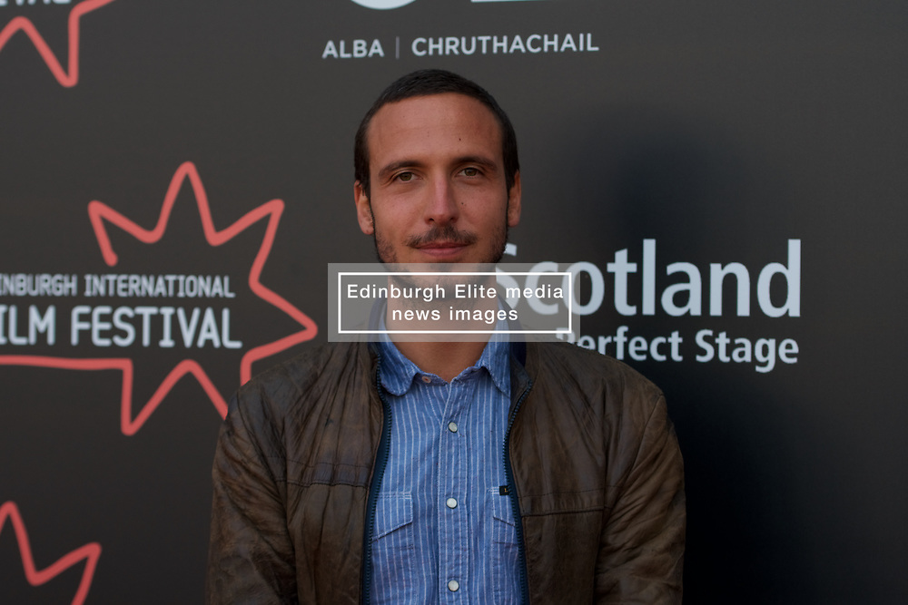 On the red carpet during the Edinburgh International Film Festival Premier of Daphne at Cineworld, Nico Mensinga, Friday 23rd June 2017(c) Brian Anderson | Edinburgh Elite media