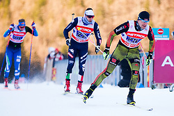 Josef Wenzl (GER) during the Man team sprint race at FIS Cross Country World Cup Planica 2016, on January 17, 2016 at Planica, Slovenia. Photo By Urban Urbanc / Sportida