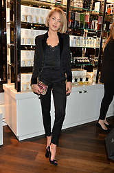 TESS WARD at the launch of the Space NK Global Flagship store at 285-287 Regent Street, London on 10th November 2016.