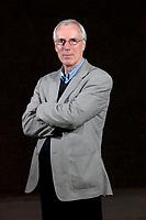 A portrait of Angus Roxburgh at the Edinburgh International Book Festival 2012 in Charlotte Square Gardens<br /> <br /> Pic by Pako Mera