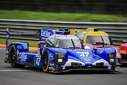September 22, 2018 - Spa, Belgique - 47 CETILAR VILLORBA CORSE (ITA) DALLARA P217 GIBSON LMP2 ROBERTO LACORTE (ITA) GIORGIO SERNAGIOTTO (ITA) FELIPE NASR  (Credit Image: © Panoramic via ZUMA Press)