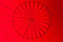 """Inside a Hot Air Balloon 1"" - Photograph of the inside of a hot air balloon shot while standing in the basket."
