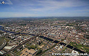 aerial photograph of Glasgow Scotland