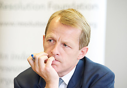 Rt Hon David Laws MP <br /> Minister of State for Schools and the Cabinet Office.<br /> The Liberal Democrat agenda for tackling low pay with David Laws MP, at The Resolution Foundation,<br /> London, United Kingdom<br /> Wednesday, 12th June 2013<br /> Picture by Elliot Franks / i-Images