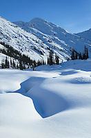 Marriott Basin in winter, Coast Mountains British Columbia