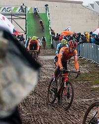 NIEUWENHUIS Joris (NED) during Men Elite race, 2020 UCI Cyclo-cross Worlds Dübendorf, Switzerland, 2 February 2020. Photo by Pim Nijland / Peloton Photos | All photos usage must carry mandatory copyright credit (Peloton Photos | Pim Nijland)