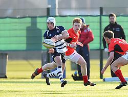 Iwan Hughes (SGS College) of Bristol Rugby Academy U18 - Mandatory by-line: Paul Knight/JMP - 21/01/2017 - RUGBY - SGS Wise Campus - Bristol, England - Bristol Academy U18 v Saracens Academy U18 - Premiership Rugby Academy U18 League