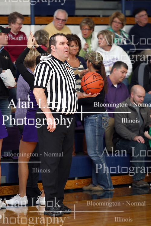 19 January 2013: Dee-Mack Chiefs v Lexington Minutemen boys1st Round McLean County Tournament at Ridgeview High School in Colfax Illinois