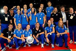 23-08-2009 VOLLEYBAL: WGP FINALS CEREMONY: TOKYO <br /> Rusland wint de zilveren medaille op de World Grand Prix 2009<br /> ©2009-WWW.FOTOHOOGENDOORN.NL