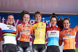 Boels Dolmans are the top team at Healthy Ageing Tour 2018 - Stage 5, a 94.3 km road race in Groningen on April 8, 2018. Photo by Sean Robinson/Velofocus.com