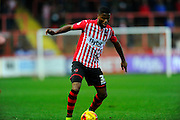 Exeter City's Joel Grant during the Sky Bet League 2 match between Exeter City and Luton Town at St James' Park, Exeter, England on 19 December 2015. Photo by Graham Hunt.