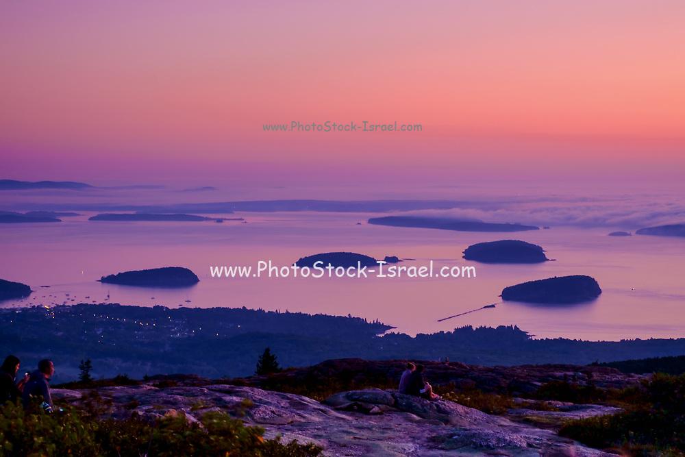 Grindstone Neck at sunrise, Schoodic Peninsula, Acadia National Park, near  Bar Harbor, maine