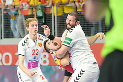 Dujshebaev Alex of Spain during handball match between National teams of Macedonia and Spain on Day 4 in Main Round of Men's EHF EURO 2018, on January 21, 2018 in Arena Varazdin, Varazdin, Croatia. Photo by Mario Horvat / Sportida