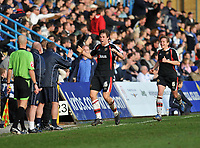 Photo: Tony Oudot/Richard Lane Photography. Gillingham v Shrewsbury Town. Coca-Cola Football League Two. 28/02/2009. <br /> GOAL! Grant Holt of Shrewsbury celebrates his last minute equaliser with the bench