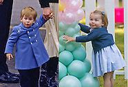 Princess Charlotte Makes 1st Public Steps Just Like Her Uncle Harry in Blue
