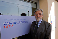 Roma, 10 Aprile  2015<br /> Inaugurazione della casa della salute sul Lungomare Paolo Toscanelli ad Ostia.<br /> Nella foto: Vincenzo Panella,  &lrm;Direttore Generale dell'Azienda Sanitaria Locale Roma D.<br /> Rome, April 10, 2015<br /> Inauguration of the house of health, on the waterfront Paolo Toscanelli to Ostia.<br /> Pictured: VincenzoPanella, General Director of the Local Health Rome D.