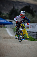 9 Boys #6 (HOUGH Finley) GBR during practice at the 2018 UCI BMX World Championships in Baku, Azerbaijan.