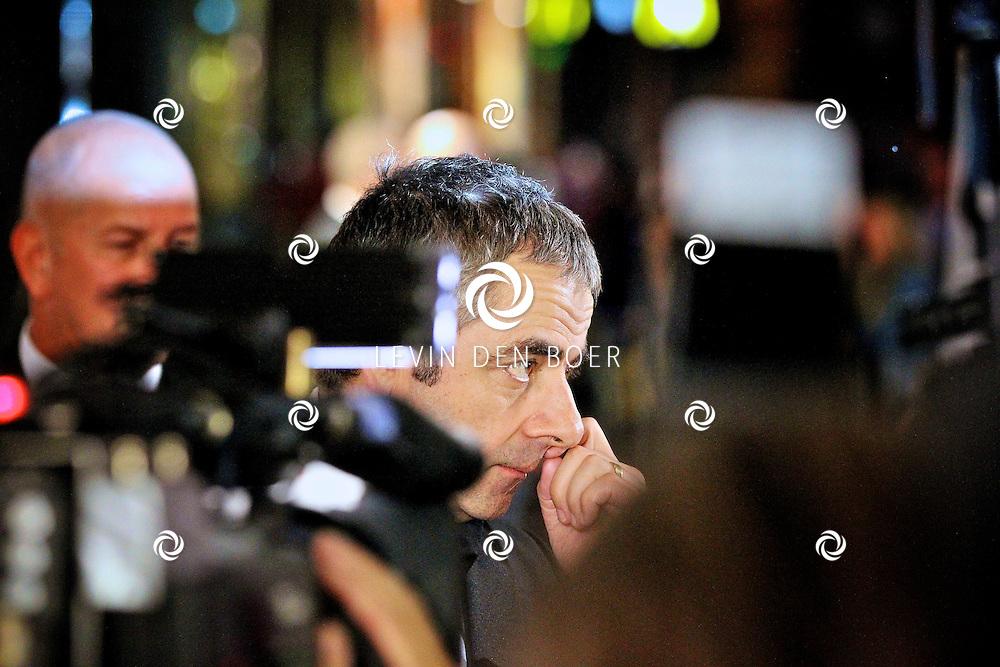 AMSTERDAM - Bij pathe theater Tuschinski is de filmpremiere van Johnny English.  Met op de foto Rowan Atkinson. FOTO LEVIN DEN BOER - PERSFOTO.NU
