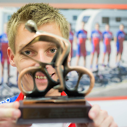 20141106: SLO, Cycling - Retirement of Adria Mobil's rider Tomaz Nose