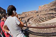 Alberto Carrera, Colosseum, Coliseum, Flavian Amphitheatre, World Heritage Site, Rome, Lazio, Italy, Europe<br /> <br /> EDITORIAL USE ONLY