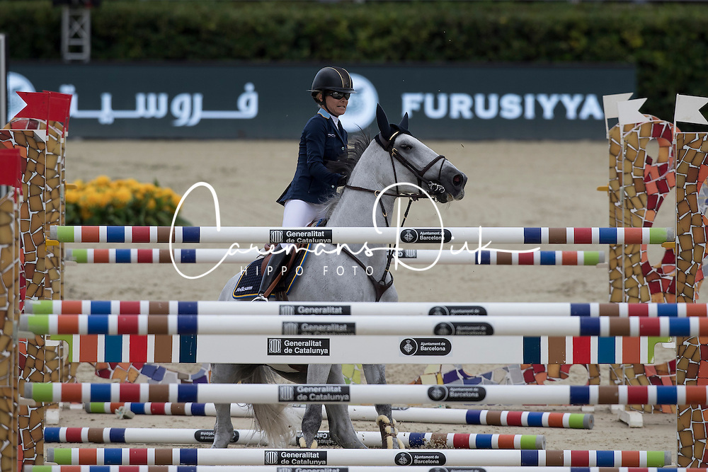 Baryard-Johnsson Malin, SWE, H&M Cue Channa 42<br /> Furusiyya FEI Nations Cup Jumping Final - Barcelona 2016<br /> © Hippo Foto - Dirk Caremans<br /> 22/09/16