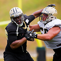 WHITE SULPHUR SPRINGS, WV  -- August 7, 2015 -- The New Orleans Saints prepare for the upcoming NFL season during training camp at the The Greenbrier Resort in White Sulphur Springs, West Virginia. (PHOTO / CHIP LITHERLAND)