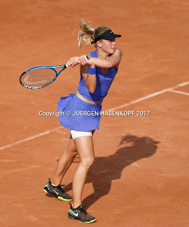 CARINA WITTHOEFT (GER)<br /> <br /> Tennis - French Open 2017 - Grand Slam / ATP / WTA / ITF -  Roland Garros - Paris -  - France  - 1 June 2017.