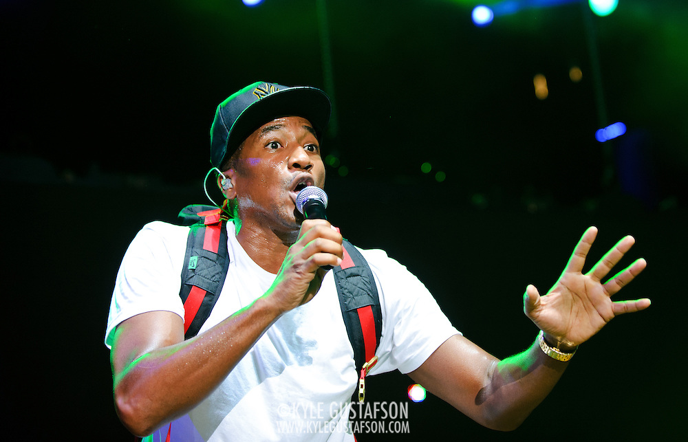Columbia, MD - August 30th, 2010:  Q-Tip and A Tribe Called Quest performed hits from their seminal 1993 album Midnight Marauders. (Photo by Kyle Gustafson/For The Washington Post)