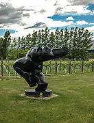 Sculpture at Olssen's, Central Otago