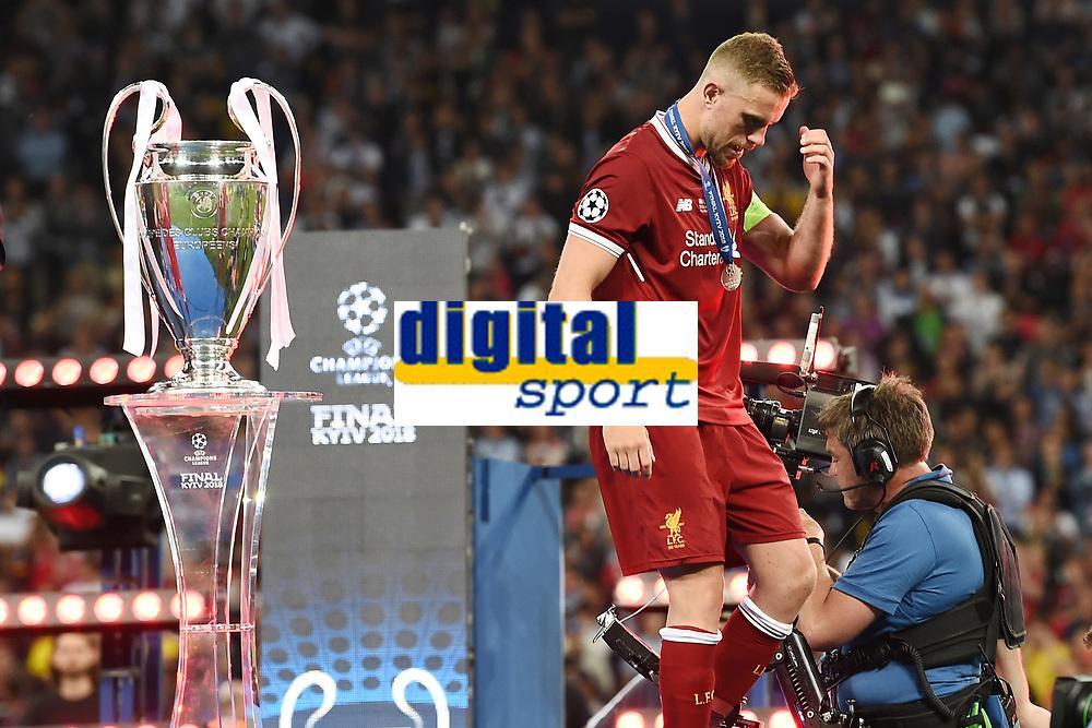 Jordan Henderson<br /> Kiev 26-05-2018 Kiev Olympic Stadium <br /> Football Champions League 2017/2018 Final Real Madrid - Liverpool Foto Matteo Gribaudi/Image Sport/Insidefoto