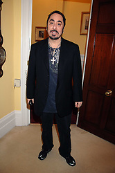 DAVID GEST at a party to celebrate the 21st birthday of one of their horses Leopold, held at 35 Sloane Gardens, London W1 on 10th September 2007.<br />